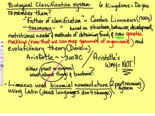 Env Science NOTES Evol Ecology