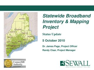 Statewide Broadband Inventory & Mapping Project