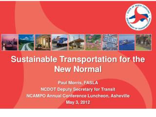 Sustainable Transportation for the New Normal