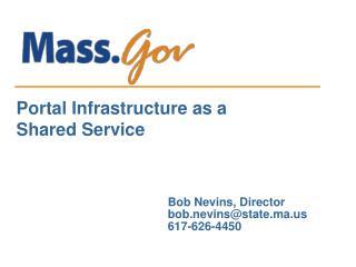 Bob Nevins, Director bob.nevins@state.ma 617-626-4450