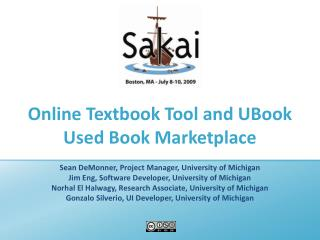 Online Textbook Tool and UBook Used Book Marketplace