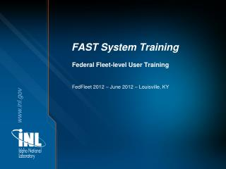 FAST System Training