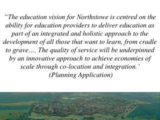Creating a  town-wide  vision for education  in the 21 st  Century