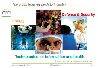 French atomic energy commission