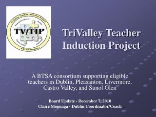 TriValley Teacher Induction Project