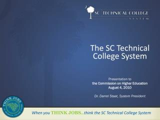 The SC Technical College System