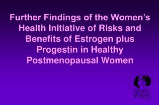 WHI Estrogen+Progestin Trial