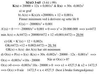 MAO 3-65   (3-61 i 99)