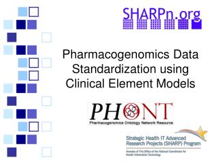 Pharmacogenomics Data Standardization using Clinical Element Models