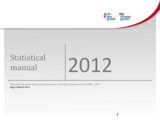 Statistical Manual