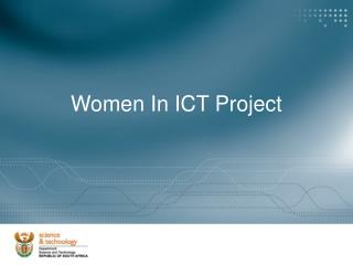 Women In ICT Project