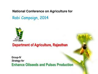 Department of Agriculture, Rajasthan