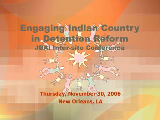 Engaging Indian Country  in Detention Reform JDAI Inter-site Conference