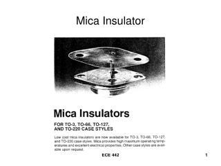 Mica Insulator