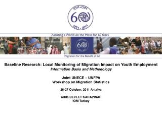 Baseline Research: Local Monitoring of Migration Impact on Youth Employment