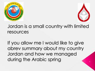 Blood Transfusion Services in Jordan 2011