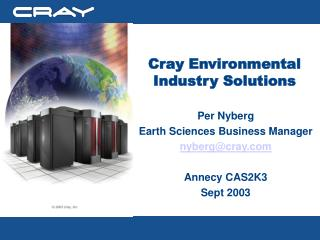Cray Environmental Industry Solutions