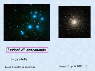 Lezioni di Astronomia