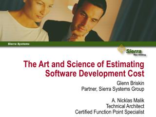 The Art and Science of Estimating Software Development Cost