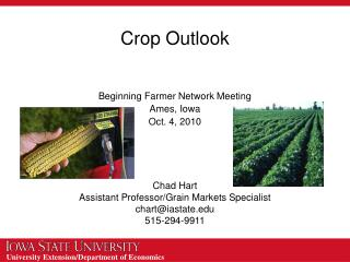 Crop Outlook