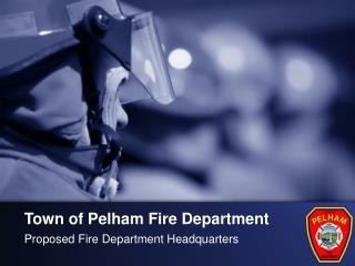 Town of Pelham Fire Department