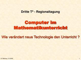 Dritte T 3  - Regionaltagung