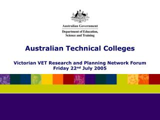 Australian Technical Colleges