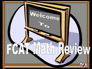 FCAT Math Review