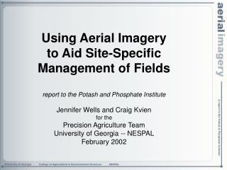 Using aerial imagery to aid in selecting fields for variable rate management of inputs