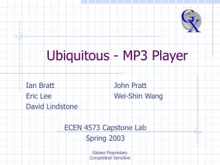 Ubiquitous - MP3 Player