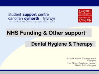 NHS Funding & Other support