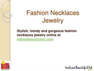 Fashion Necklaces Jewelry