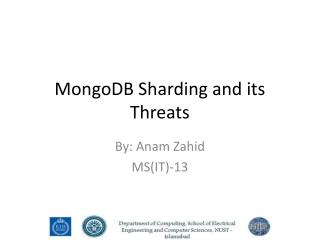 MongoDB Sharding and its Threats