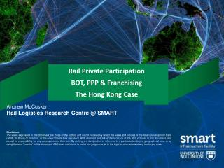 Rail Private Participation BOT, PPP & Franchising The Hong Kong Case