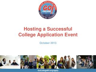 Hosting a Successful College Application Event October 2013