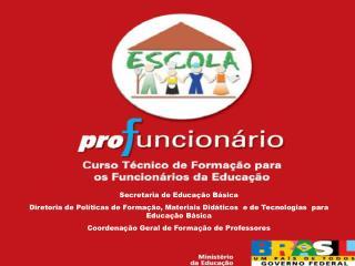 Secretaria de Educa  o B sica Diretoria de Pol ticas de Forma  o, Materiais Did ticos  e de Tecnologias  para Educa  o B