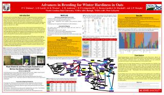 Advances in Breeding for Winter Hardiness in Oats