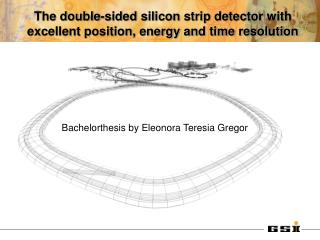 The double-sided silicon strip detector with excellent position, energy and time resolution