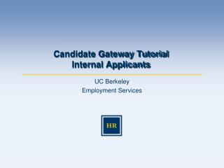 UC Berkeley Employment Services