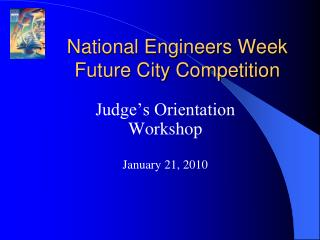 National Engineers Week Future City Competition