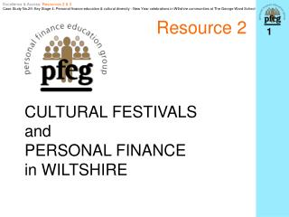 CULTURAL FESTIVALS  and  PERSONAL FINANCE  in WILTSHIRE