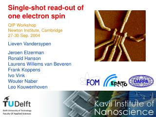 Single-shot read-out of  one electron spin