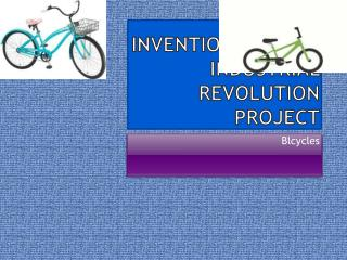 Inventions of the industrial revolution project