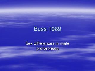 Buss 1989