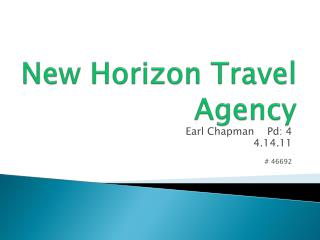 New Horizon Travel Agency