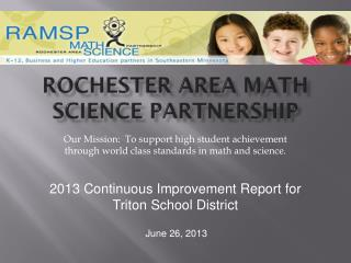 Rochester Area Math Science Partnership