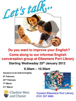 Do you want to improve your English?