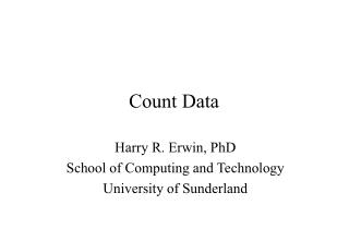 Count Data