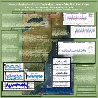 Meteorological and hydrological patterns of the U.S. East Coast