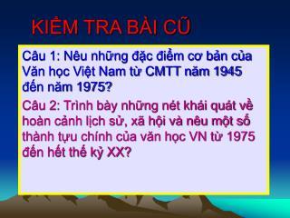 KIM TRA B I CU